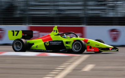 DeFrancesco qualifies third for both Indy Lights races at St. Pete
