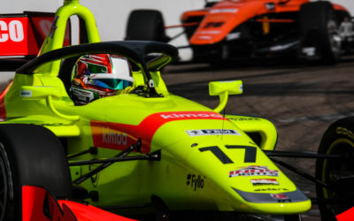 DeFrancesco aiming to turn St. Pete qualifying speed into Indy success