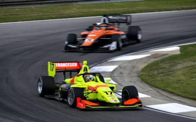 Back-to-back podiums for DeFrancesco in Indy Lights debut