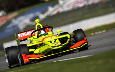 DeFrancesco scores debut Indy Lights podium