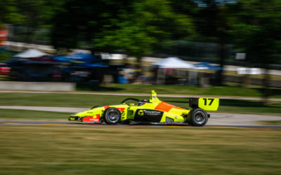 Road America Indy Lights heartache for fast DeFrancesco